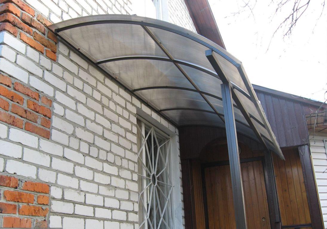 Крыльцо для частного дома своими руками из поликарбоната 41